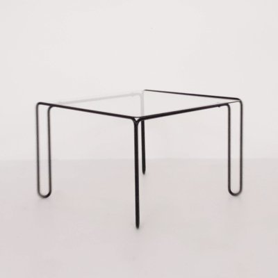 Mid-century modern square coffee table, 1960s