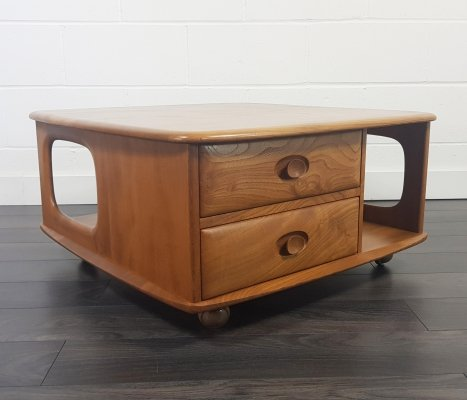 Ercol Pandora's Box Coffee Table, 1970s