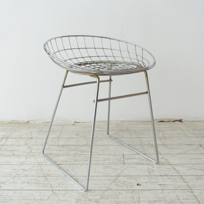 KM05 stool by Cees Braakman & A. Dekker for Pastoe, 1950s