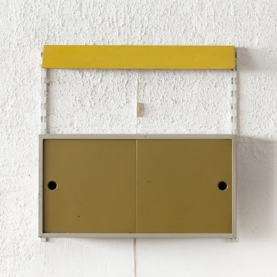 Wall unit designed by Tjerk Reijenga for Pilastro, Holland 1950s