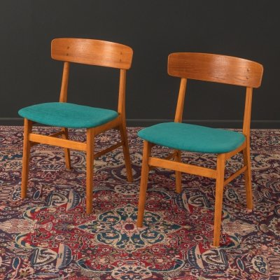 Pair of dining chairs by Farstrup Møbler, Denmark 1960s