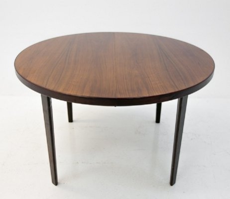 Large Folding Danish Dining Table in Rosewood