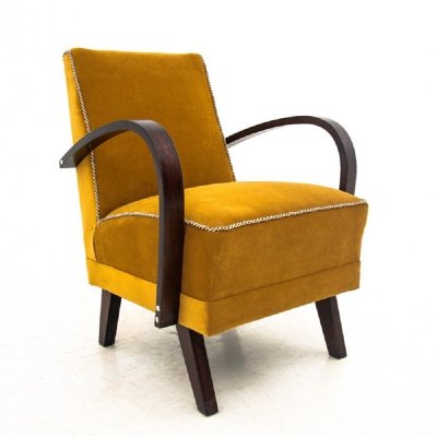Art Deco Club Chair, 1960s