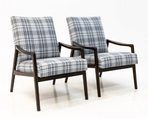 Two midcentury armchairs, 1960s