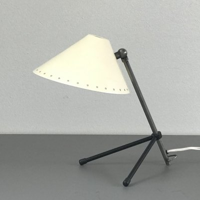 Pinnochio desk lamp by H. Busquet for Hala Zeist, 1950s