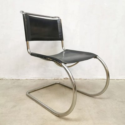 Vintage design chair MR10 by Ludwig Mies van der Rohe for Knoll International