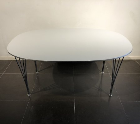 'Superellipse' Table by Piet Hein & Bruno Mathsson for Fritz Hansen, 1960s