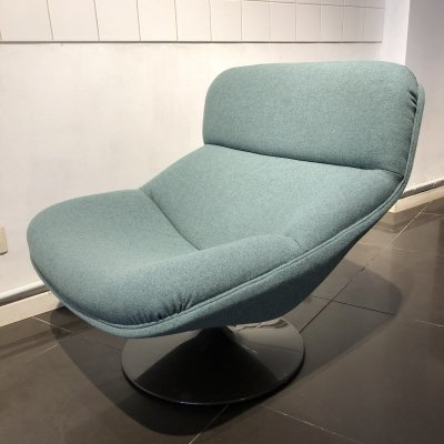 'F518' Swivel Lounge Chair by Geoffrey Harcourt for Artifort, 1960s