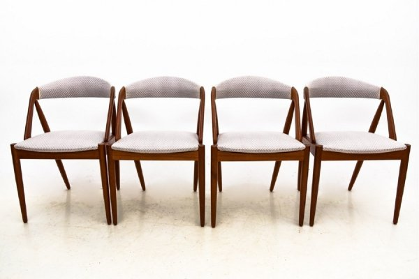 Set of 4 'Model 31' Chairs by Kai Kristiansen, Denmark 1960s