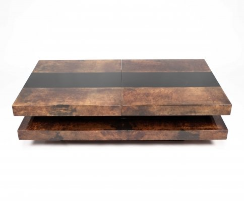 Coffee table by Aldo Tura, 1970s