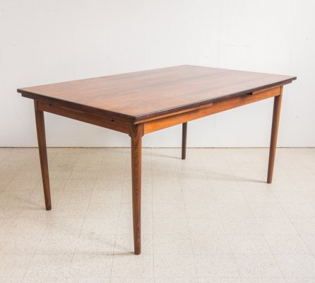 Rosewood table by Bernhard Pedersen & Son, 1960s