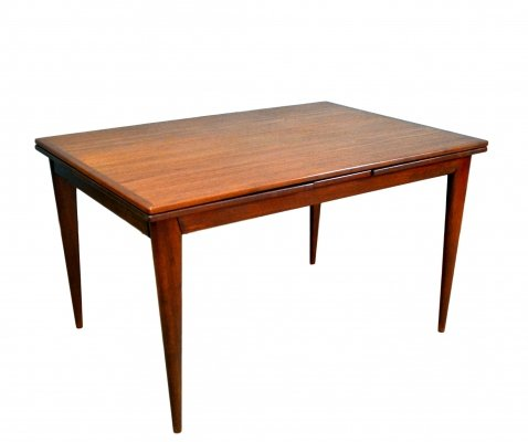Danish Extendable Teak Model Nr. 254 Dining Table by Niels Otto Møller