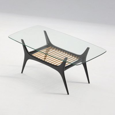 Mid century coffee table by Alfred Hendrickx for Belform, 1958