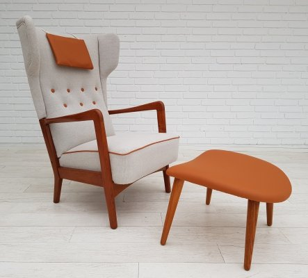 Danish design armchair by Fritz Hansen, 1950s