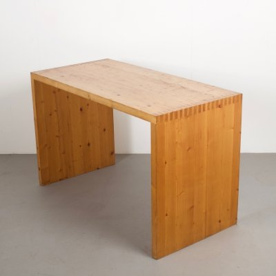 Ate van Apeldoorn Solid Pine Desk / Table for Houtwerk Hattem
