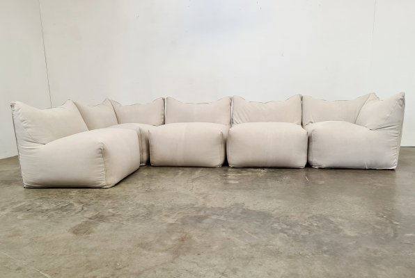 Sectional Le Bambole sofa by Mario Bellini for B&B Italia, 1970s