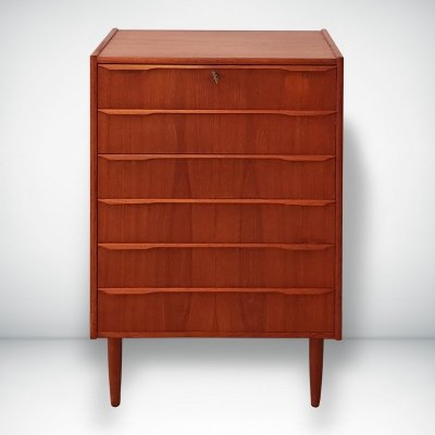 Teak chest of drawers, Denmark 1960s