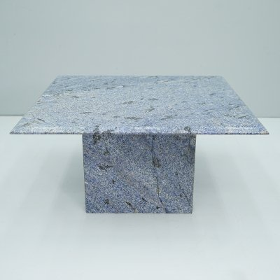 Blue Granite Side Table, 1970s