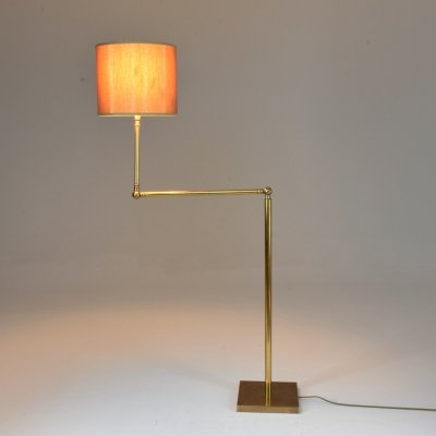 20th Century French Brass Floor Lamp, 1960's