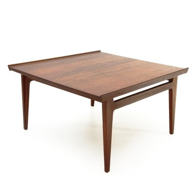 Teak coffee table by Finn Juhl for France & Davorkosen, 1960s