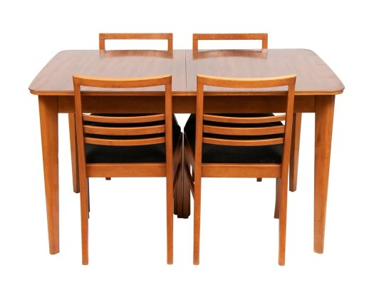 Midcentury Dining Table & Chairs by Gimson & Slater, c.1950s