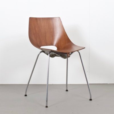 Small Italien Plywood Chair by Carlo Ratti for Società Compensati Curvati, 1950s