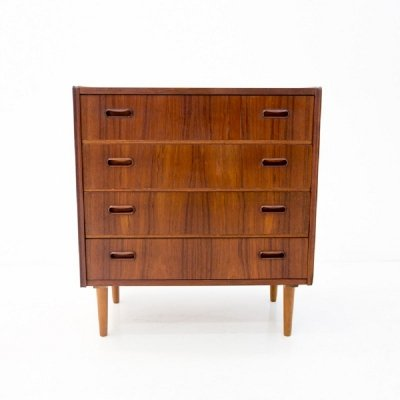 Teak Chest of Drawers, Danish Design 1960s