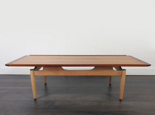 G Plan Long John Coffee Table, 1960s