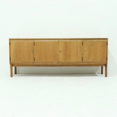 Solid Oak Sideboard by Kurt Ostervig for Vamo Sonderborg, 1960s