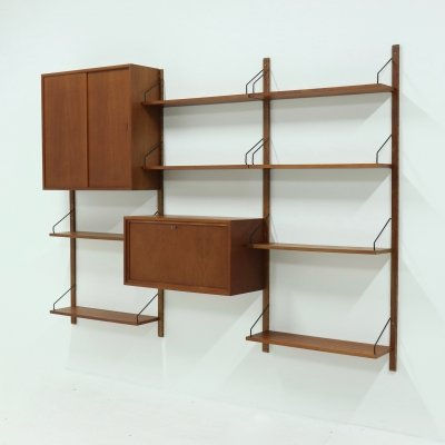 Royal System Teak Wall Unit by Poul Cadovius for Cado Denmark, 1960's
