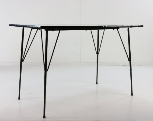 Height adjustable kitchen / dining table by Rudolf Wolf for Elsrijk, 1960s