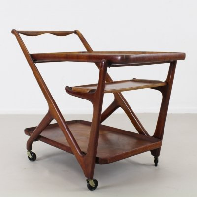 Tea / Serving trolley by Cesare Lacca for Cassina