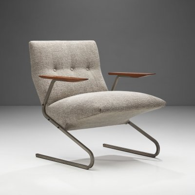 'Cantilever' Armchair by George van Rijck for Beaufort, Belgium 1960s