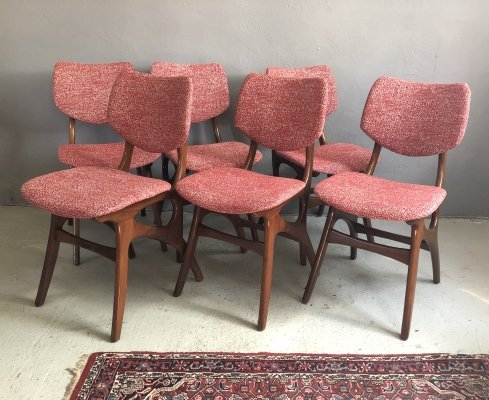 Set of 6 Pynock dining chairs, 1960s