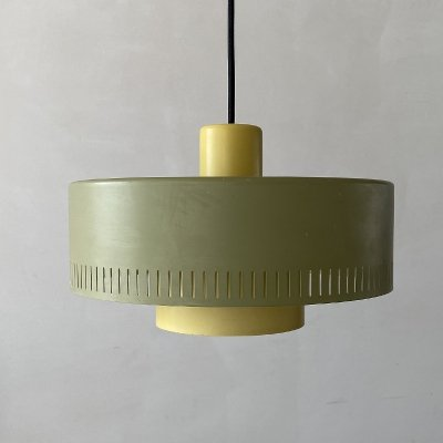 Danish 'Metro' hanging lamp by Jo Hammerborg for Fog & Mørup, 1960s