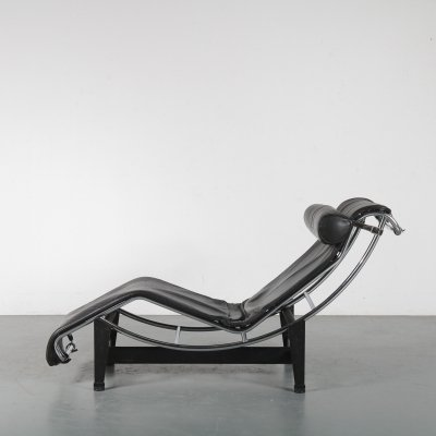 LC4 Chaise Longue by Le Corbusier for Cassina, Italy 1980