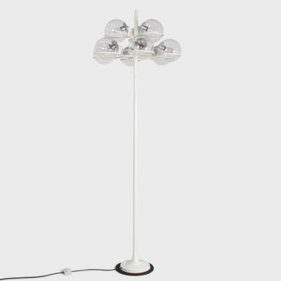 Monumental Gino Sarfatti Floor Lamp Model 1094 for Arteluce, Italy 1966