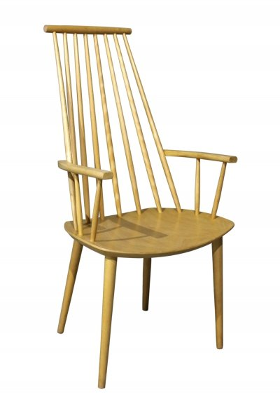 Beech armchair by Poul M. Volther for FDB