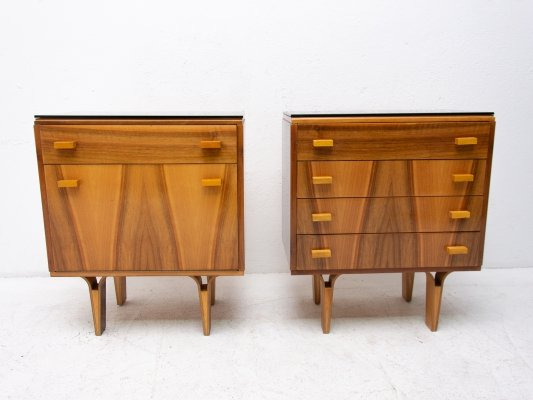 Pair of Mid century night stands by Nový Domov, Czechoslovakia 1970s