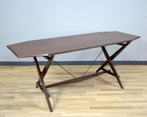 TL2 'cavalletto' dining table by Franco Albini for Poggi, 1950s