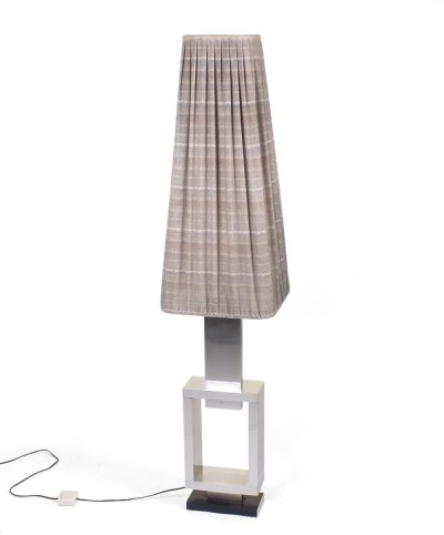 60s floorlamp with metal base