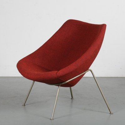 'Oyster' Chair by Pierre Paulin for Artifort, the Netherlands 1970s