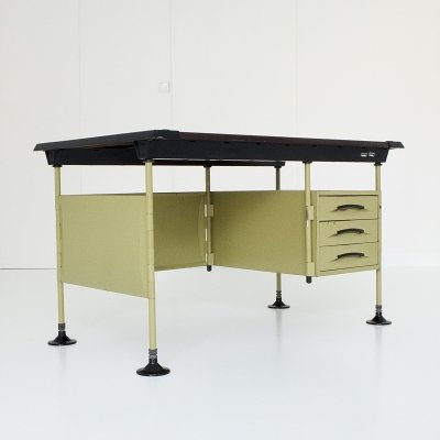 Spazio writing desk by Studio BBPR for Olivetti, 1960s