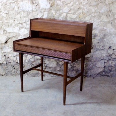 Vintage mid century Scandinavian style desk by Richard Hornby, 1960s