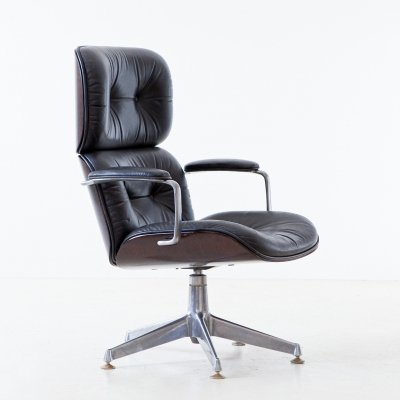 Executive Swivel Chair by Ico Luisa Parisi for MIM, 1950s