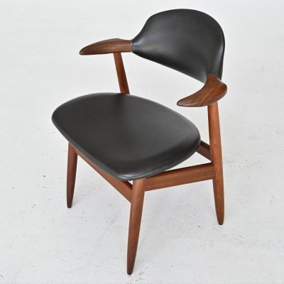 Tijsseling Cowhorn chair by Propos Hulmefa, The Netherlands 1960