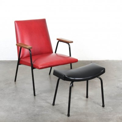 Arm chair by Pierre Guariche for Meurop, 1950s