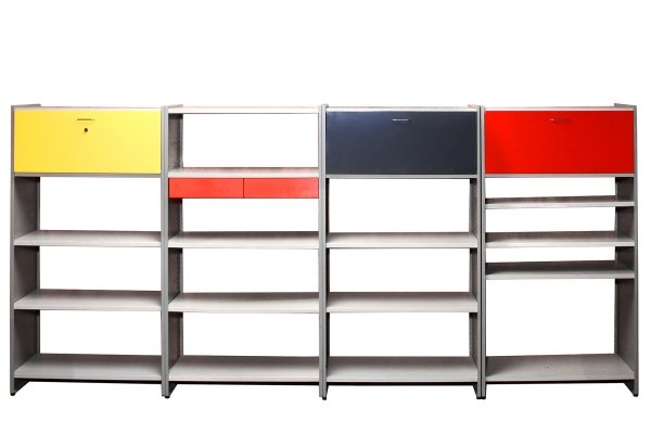 Wall Unit 5600 by A.R. Cordemeijer & L.J. Holleman for Gispen, 1950s