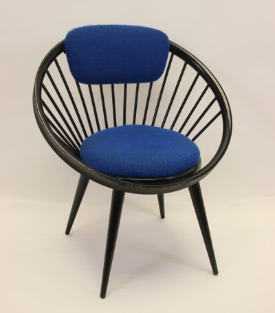 Circle arm chair by Yngve Ekström for Swedese, 1960s