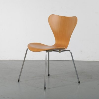 1980s Beech butterfly chair by Arne Jacobsen for Fritz Hansen, Denmark